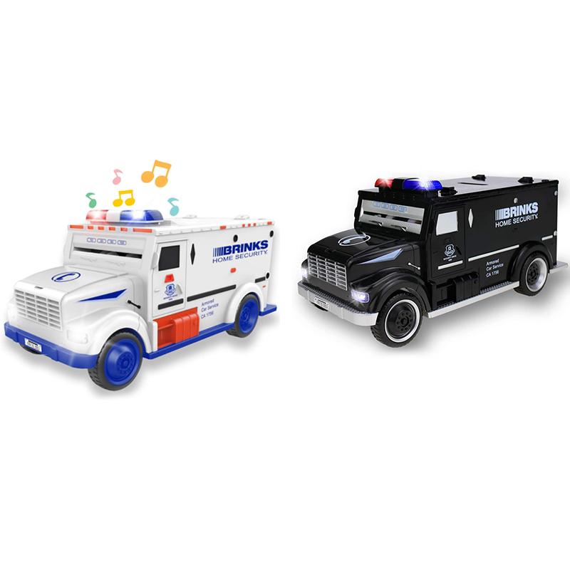 Nrpfell Digitales Sparschwein Kinder Spielzeug Sparb/üChse Sparb/üChsen Elektronische Tirelire Enfant Kinder Bargeld Auto M/üNztresor LKW Schwarz