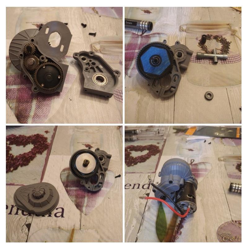 Komplettes-Getriebe-Getriebeset-1-10-RC-Crawler-Auto-Axial-SCX10-SCX10-II-9-M8E9 Indexbild 9