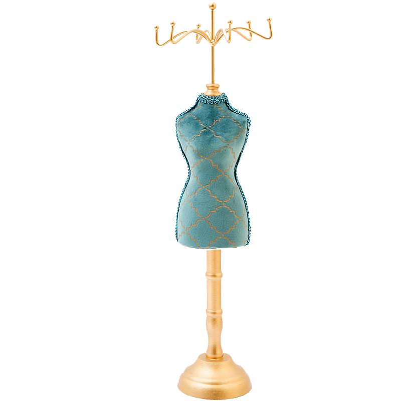 Indexbild 30 - Retro Personality Peacock Blau Bronzing Armband Halskette Schmuck Lagerung  F3C7