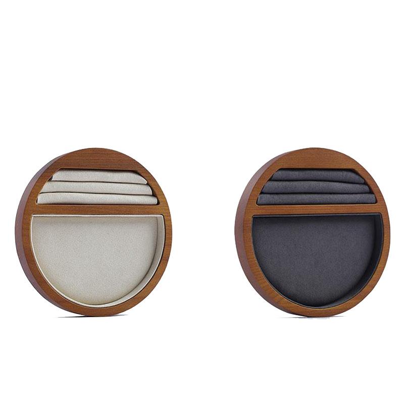 Indexbild 6 - 1X(Schmuck Tablett Display Massivholz Ring Halskette Armband Aufbewahrung T H7K8