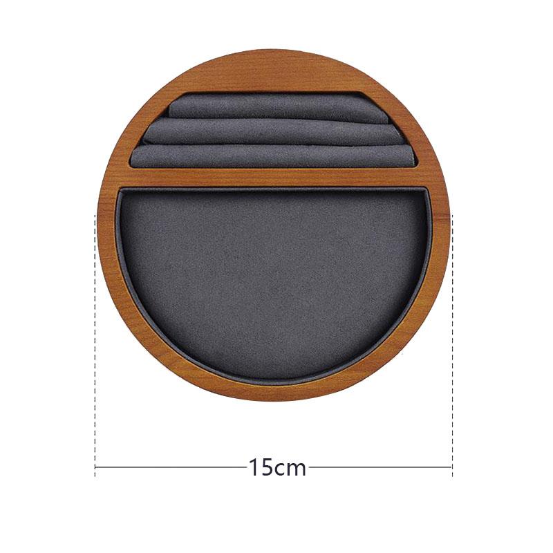 Indexbild 7 - 1X(Schmuck Tablett Display Massivholz Ring Halskette Armband Aufbewahrung T H7K8