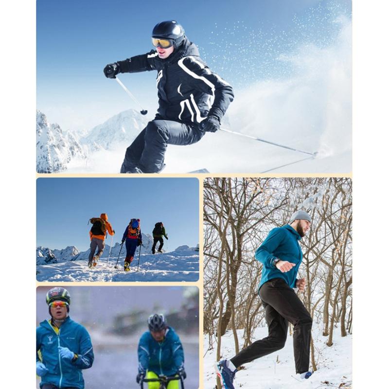 miniatura 35 - WEST BIKING, Gorras de Calavera para Deportes de Invierno, una Prueba de Vi G7F4