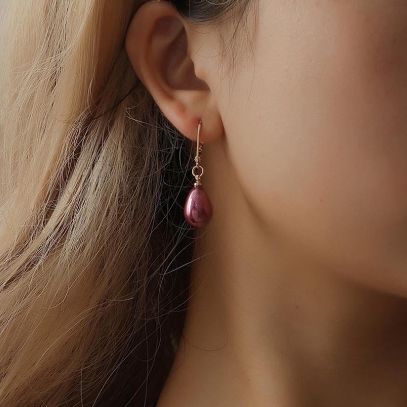 Indexbild 6 - Kreative Mehrfarbige Ohrringe Stilvolle Ohrringe mit SüßEm Temperament Eleg E9U7
