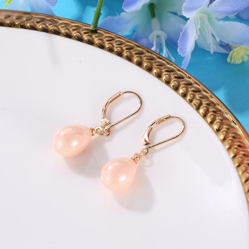 Indexbild 35 - Kreative Mehrfarbige Ohrringe Stilvolle Ohrringe mit SüßEm Temperament Eleg E9U7