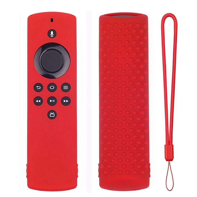 miniature 3 - Housse de Protection en Silicone pour TéLéCommande Amazon Fire TV Stick Lit F2R6