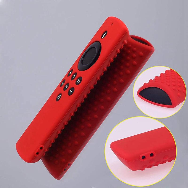 miniature 4 - Housse de Protection en Silicone pour TéLéCommande Amazon Fire TV Stick Lit F2R6