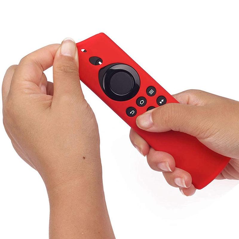 miniature 5 - Housse de Protection en Silicone pour TéLéCommande Amazon Fire TV Stick Lit F2R6