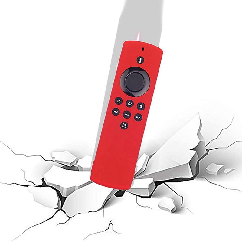 miniature 17 - Housse de Protection en Silicone pour TéLéCommande Amazon Fire TV Stick Lit F2R6