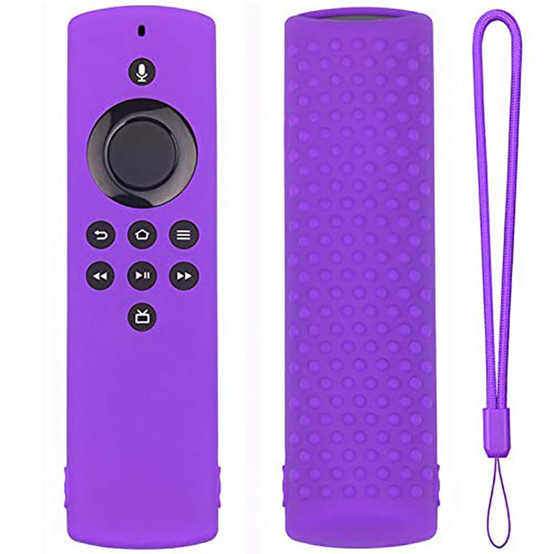 miniature 23 - Housse de Protection en Silicone pour TéLéCommande Amazon Fire TV Stick Lit F2R6