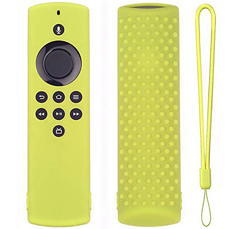 miniature 33 - Housse de Protection en Silicone pour TéLéCommande Amazon Fire TV Stick Lit F2R6