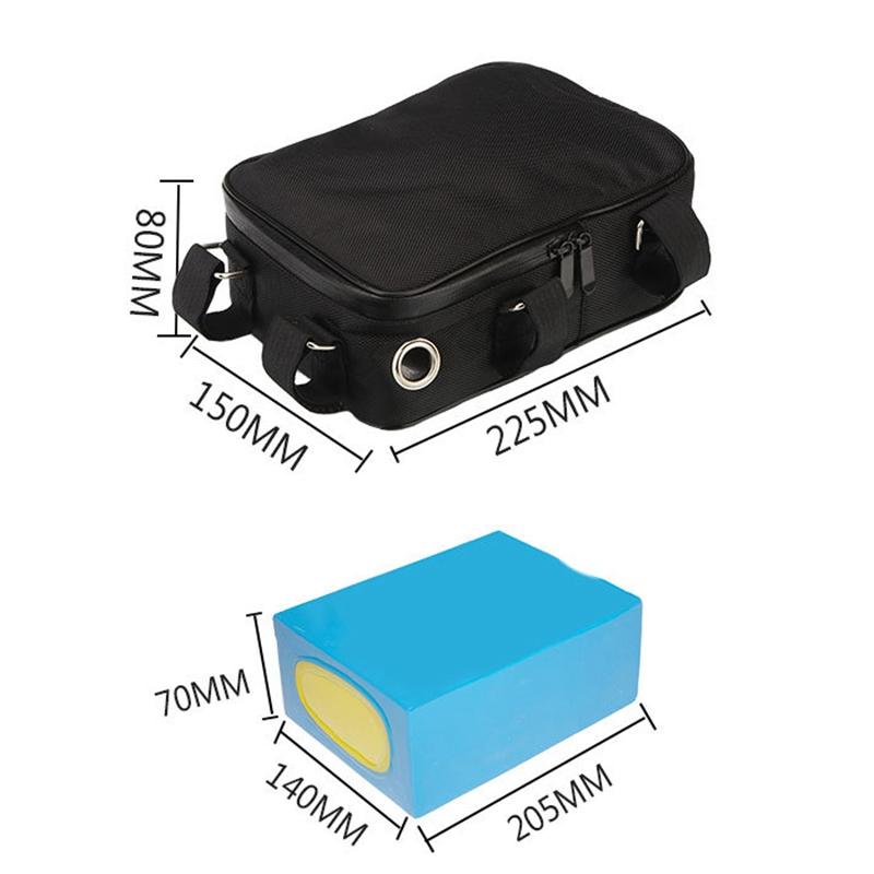 Indexbild 3 - 10X(Elektrische Fahrradtasche Lithium-Akkutasche Ebike Lihthium-Akkutasche S7W3)