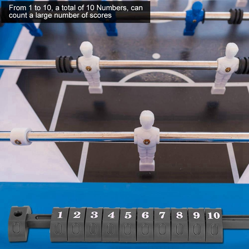 miniatura 5 - Indicador de Contadores de PuntuacióN de FutbolíN de 2 Piezas para Accesori F9B2