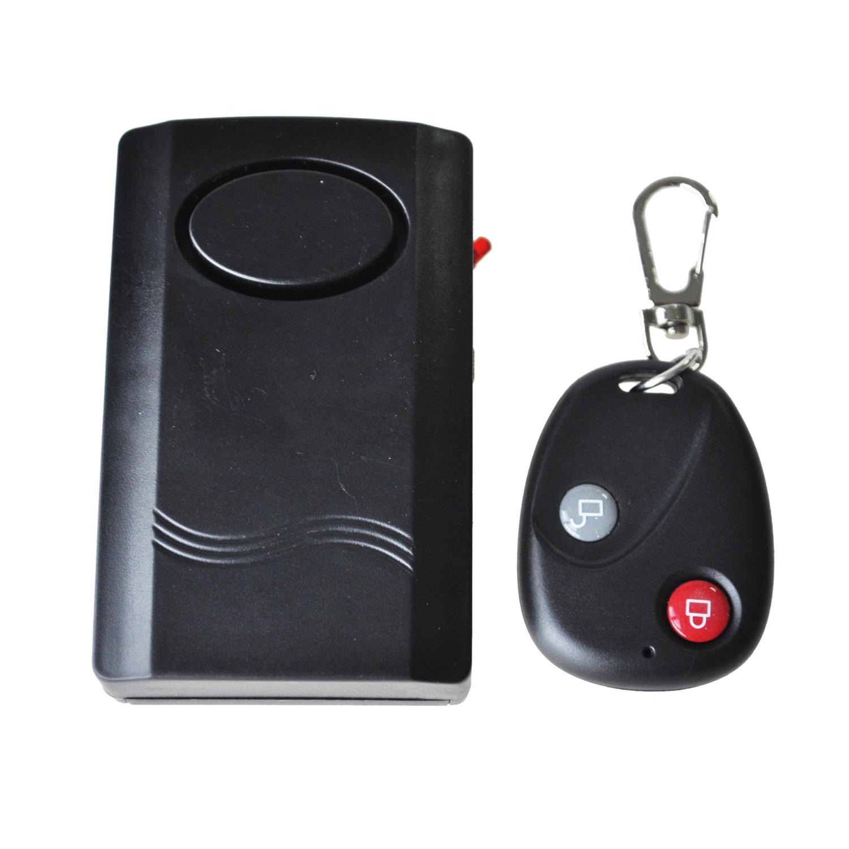 Telecommande sans fil alarme de porte fenetre vibrations - Alarme de porte sans fil ...