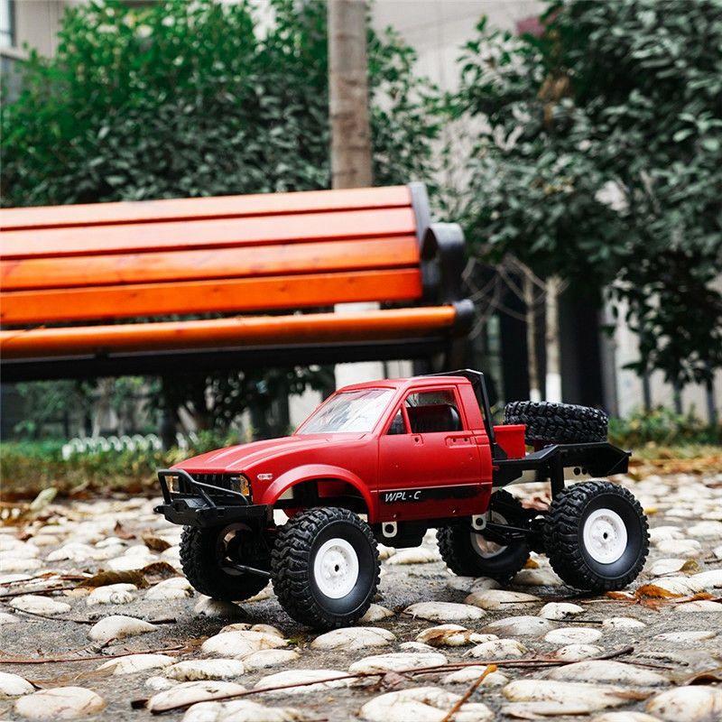 WPL-C14-1-16-Echelle-2-4G-2CH-4WD-Mini-Off-road-RC-Semi-camion-RTR-pour-les-2T6 miniature 4