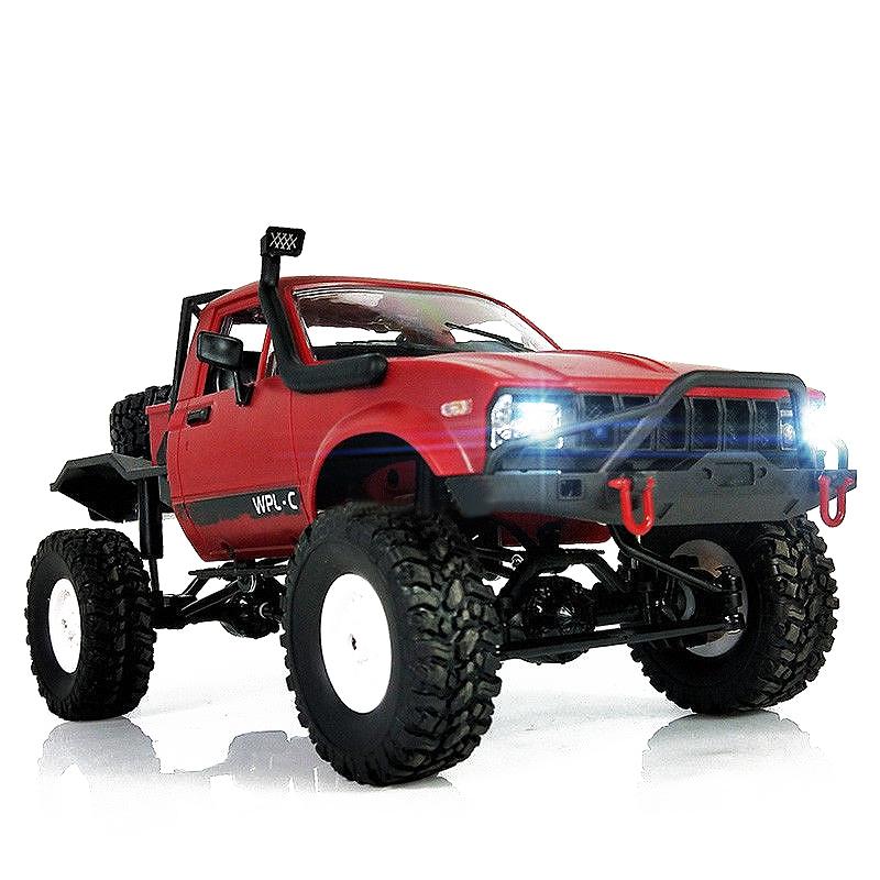 WPL-C14-1-16-Echelle-2-4G-2CH-4WD-Mini-Off-road-RC-Semi-camion-RTR-pour-les-2T6 miniature 5