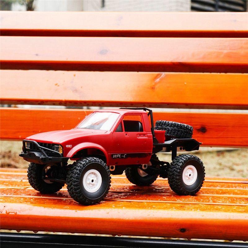 WPL-C14-1-16-Echelle-2-4G-2CH-4WD-Mini-Off-road-RC-Semi-camion-RTR-pour-les-2T6 miniature 7