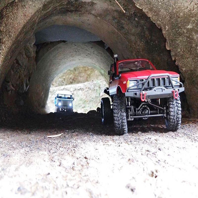 WPL-C14-1-16-Echelle-2-4G-2CH-4WD-Mini-Off-road-RC-Semi-camion-RTR-pour-les-2T6 miniature 10