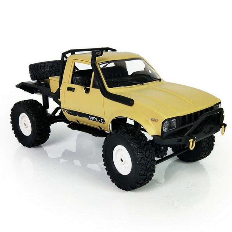 WPL-C14-1-16-Echelle-2-4G-2CH-4WD-Mini-Off-road-RC-Semi-camion-RTR-pour-les-2T6 miniature 13