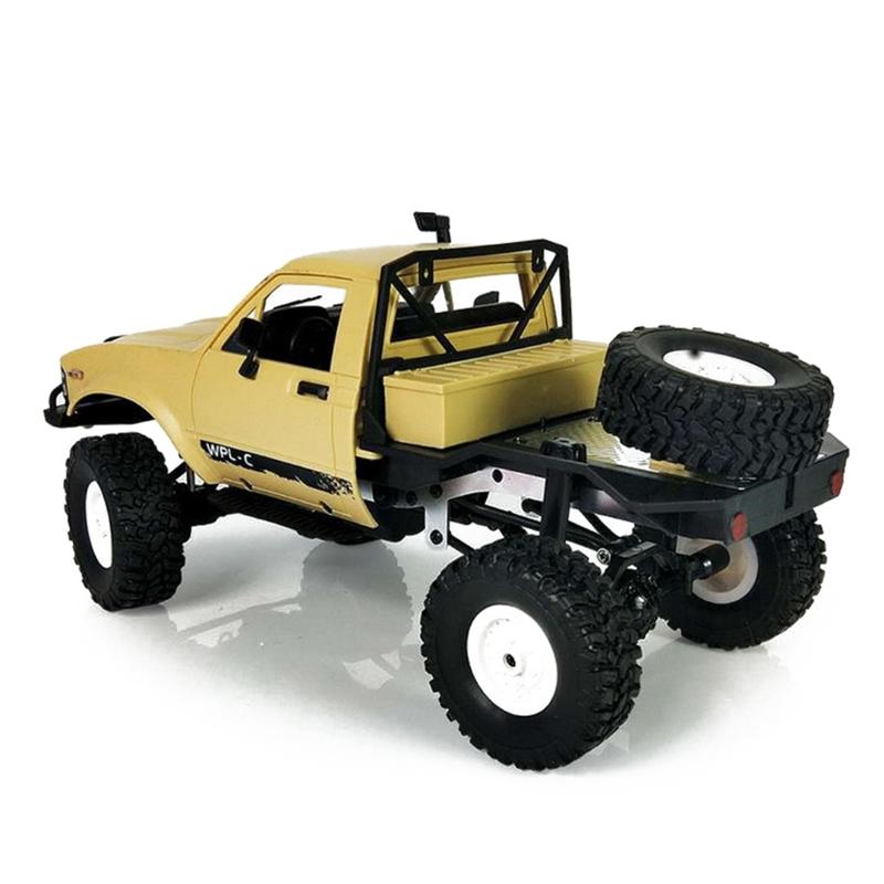 WPL-C14-1-16-Echelle-2-4G-2CH-4WD-Mini-Off-road-RC-Semi-camion-RTR-pour-les-2T6 miniature 14