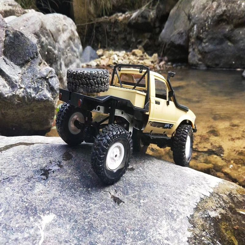 WPL-C14-1-16-Echelle-2-4G-2CH-4WD-Mini-Off-road-RC-Semi-camion-RTR-pour-les-2T6 miniature 19