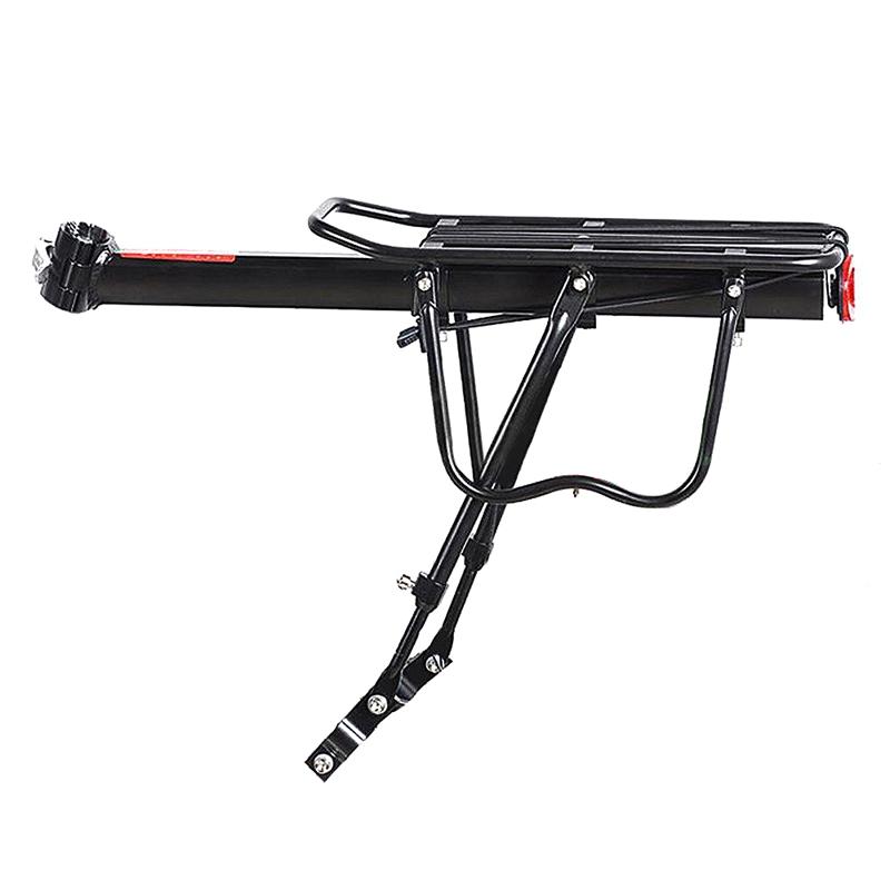 Black-Bike-Quick-Release-Luggage-Seat-Post-Pannier-Carrier-Rear-Rack-Fender-L3O3 Indexbild 7