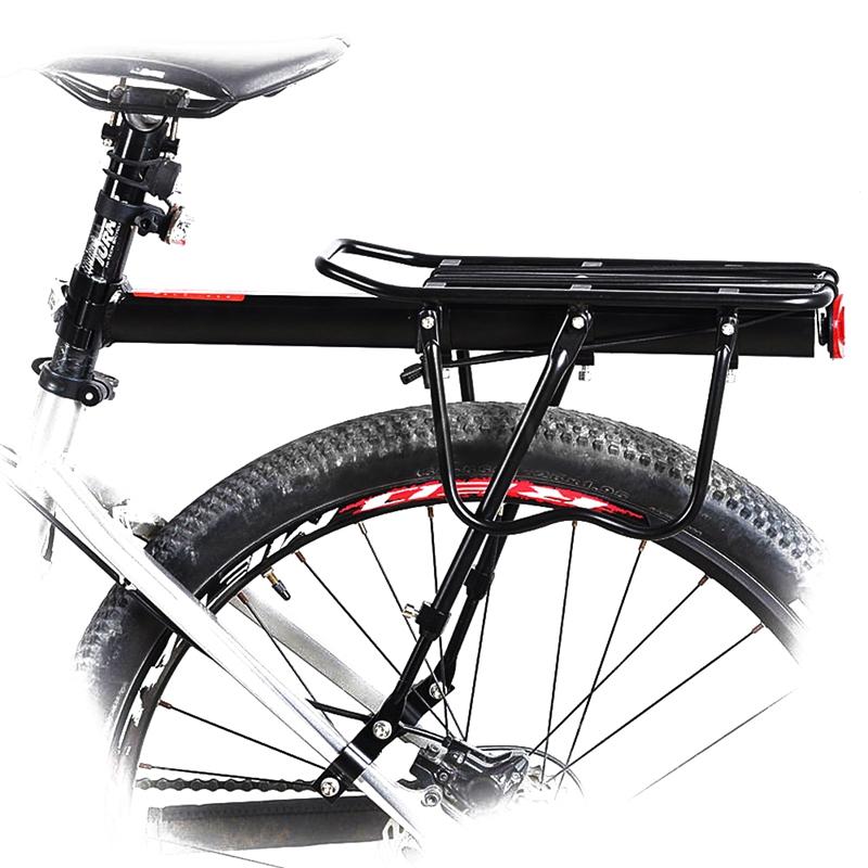 Black-Bike-Quick-Release-Luggage-Seat-Post-Pannier-Carrier-Rear-Rack-Fender-L3O3