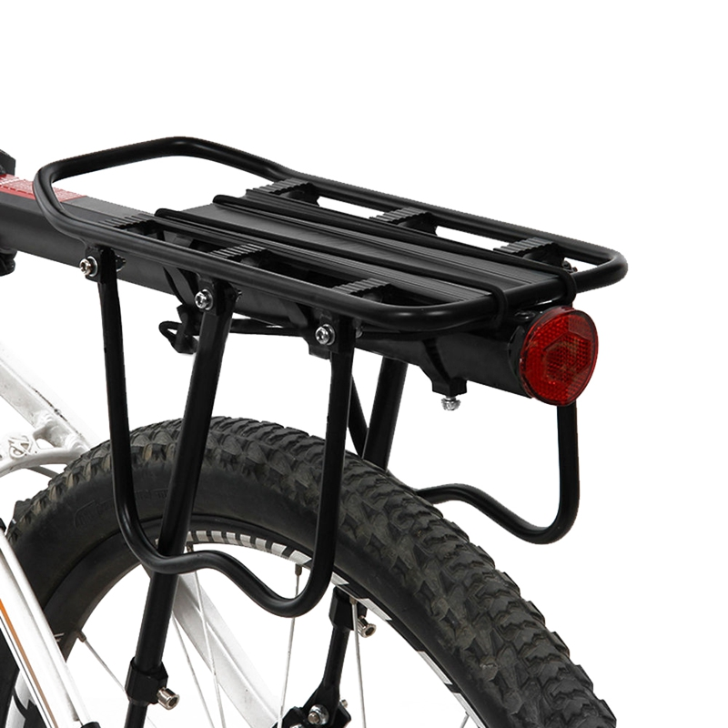 Black-Bike-Quick-Release-Luggage-Seat-Post-Pannier-Carrier-Rear-Rack-Fender-L3O3 Indexbild 5