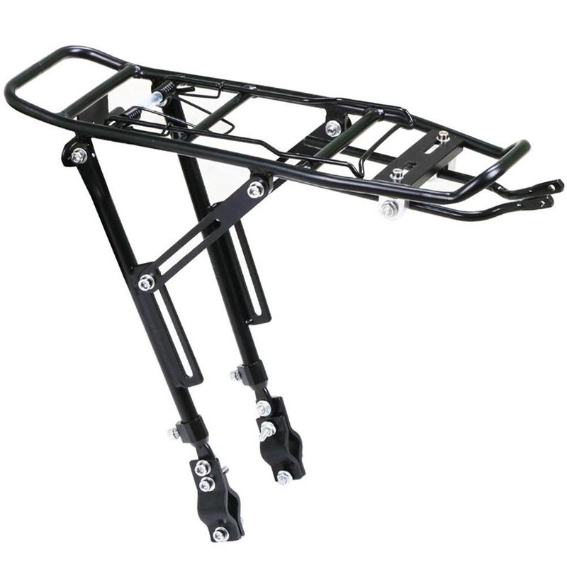 6X (Aleación Trasero Alforja Bicicleta Ciclo de Equipaje Bolsa de de de portadoras de rack Bicicleta de montaña Bl T7 e88962