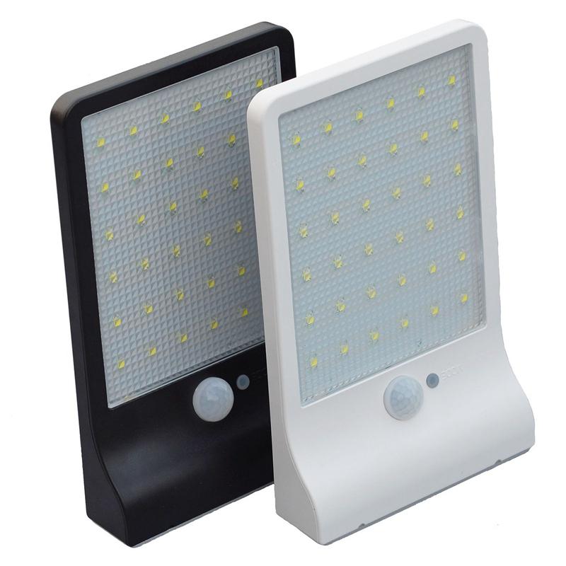 36-LED-luz-de-energia-solar-brillante-Sensor-de-movimiento-PIR-Seguridad-al-a-PB miniatura 12