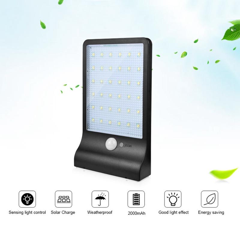 36-LED-luz-de-energia-solar-brillante-Sensor-de-movimiento-PIR-Seguridad-al-a-PB miniatura 17