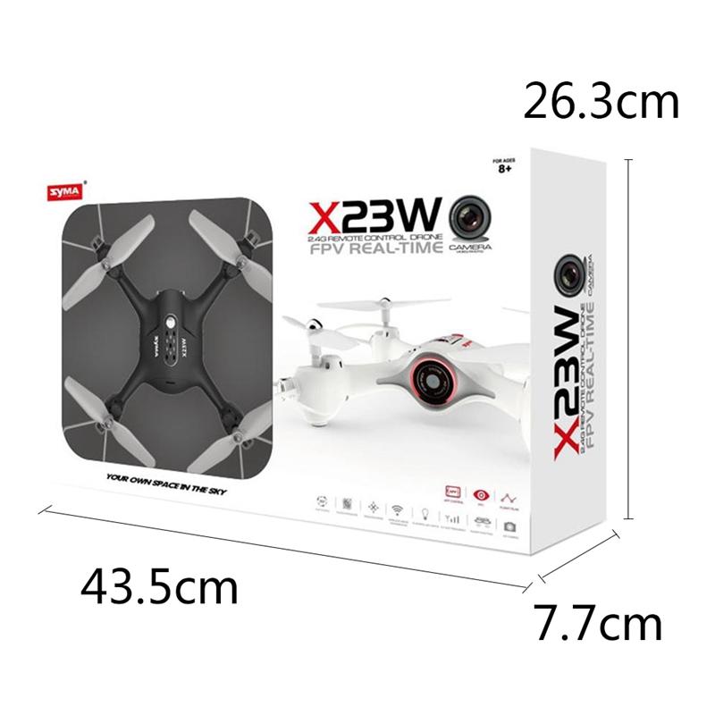 SyMA-estrella-dirigente-X23w-mini-kit-RC-helicoptero-altura-Vehiculo-aereo-no-tr miniatura 11