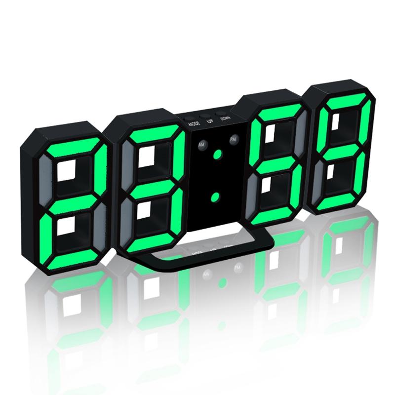 Nouvelle-Horloge-Murale-Moderne-de-3D-LED-Horloge-Murale-Numerique-SC miniature 6