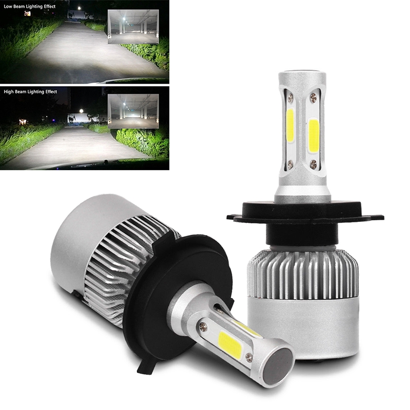 H7 LED 4-side CREE 100W Headlight Kit Bulbs Replace Xenon HID Halogen Lamp 6000k