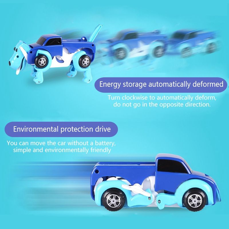 New-Dog-Dinosaur-Car-Transformer-Transform-Auto-Cute-Cool-Boy-Girl-Toy-Gift-B-TP