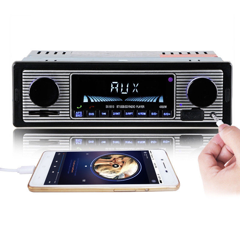 autoradio bluetooth mp3 player vintage stereo usb stereo. Black Bedroom Furniture Sets. Home Design Ideas