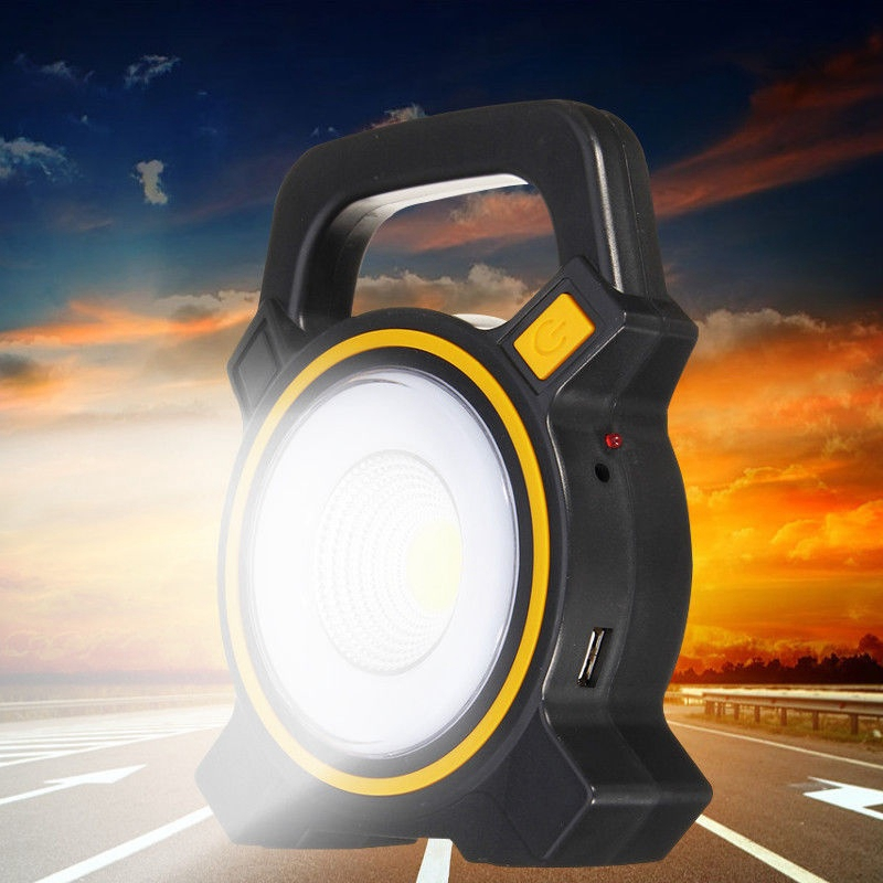 Outdoor Flood Light Does Not Work: Rechargeable 30W COB LED Portable Flood Light