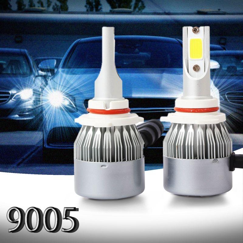 2pzs-C6-LED-Kit-de-faros-de-coche-COB-9005-36W-7600LM-bombillas-de-luz-blanca-G1