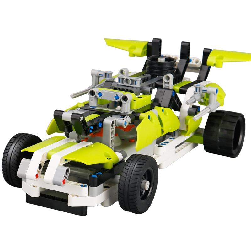 SDL-Nuevo-2-4G-1-16-Coche-RC-Juguete-rompecabezas-de-empalme-DIY-electrico-R7H1 miniatura 2