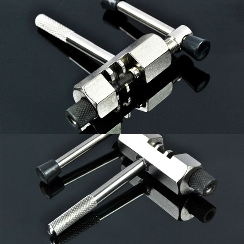 Bike Steel Chain Breaker Splitter Cutter Repair Silver for Cycling Bicycle B4P1