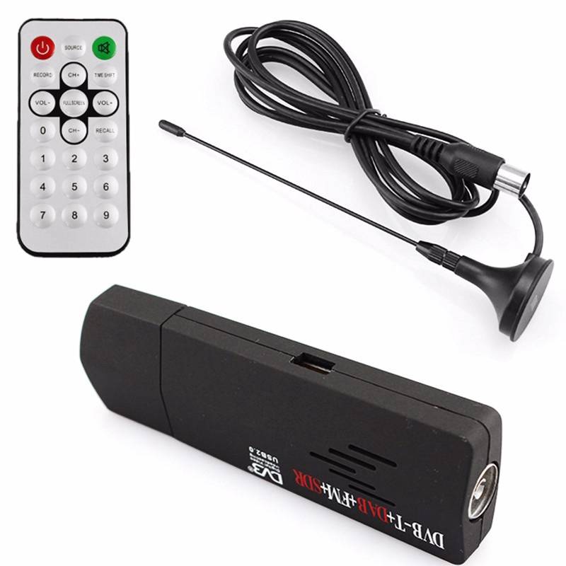 USB2-0-RTL2832U-R820T-DVB-T-SDR-DAB-FM-Dongle-Stick-Digital-TV-SDR-Receiver-R3U6