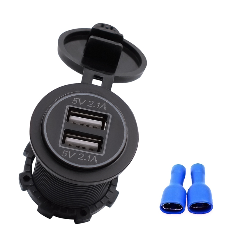 5V-4-2A-Dual-2USB-Charger-Socket-Adapter-Power-Outlet-for-12V-24V-Car-Motor-Y4O2 miniatuur 10