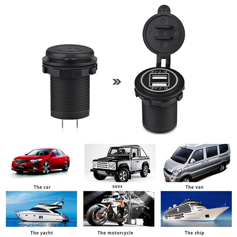 5V-4-2A-Dual-2USB-Charger-Socket-Adapter-Power-Outlet-for-12V-24V-Car-Motor-Y4O2 miniatuur 26