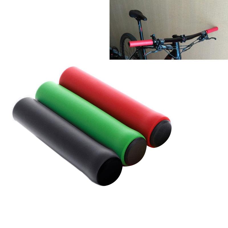 Soft Bike Handle bar Grips Hand Grip MTB BMX Cycle Road Mountain Bicycle Q