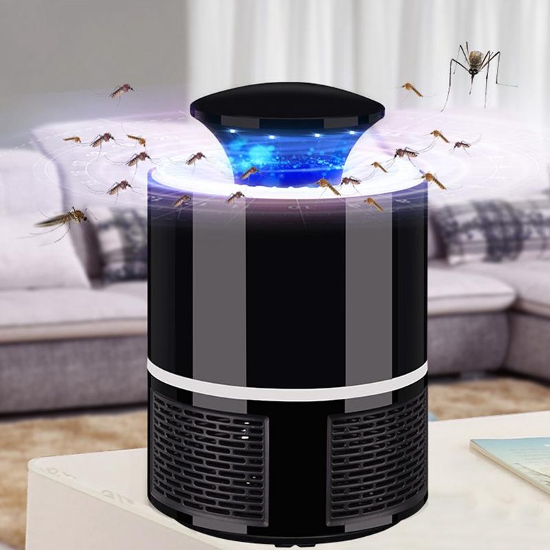 2018-Nuevo-Lampara-matador-de-mosquito-electrico-UV-LED-inteligente-Carga-U-M5D8 miniatura 3