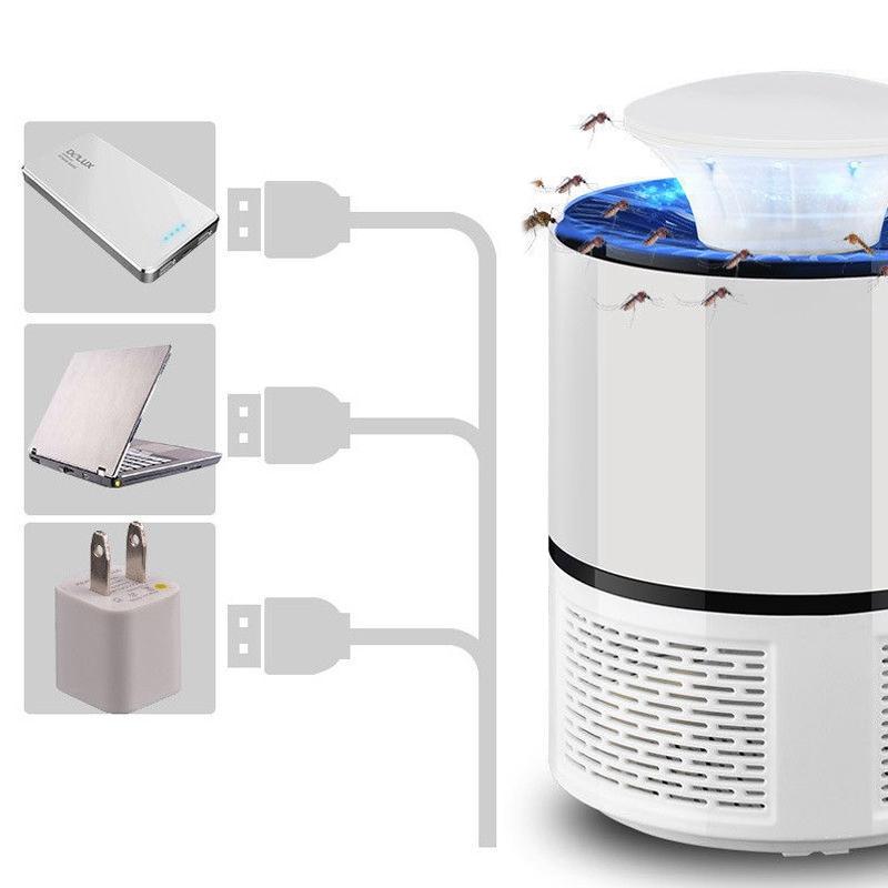 2018-Nuevo-Lampara-matador-de-mosquito-electrico-UV-LED-inteligente-Carga-U-M5D8 miniatura 14