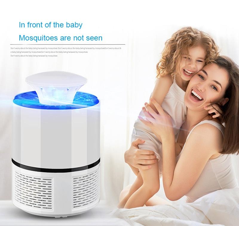 2018-Nuevo-Lampara-matador-de-mosquito-electrico-UV-LED-inteligente-Carga-U-M5D8 miniatura 17