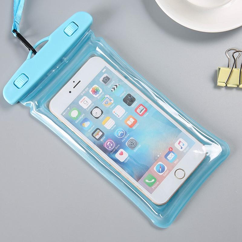 db2815403f0 Caliente bolsa impermeable de telefono movil pantalla tactil natacion  primave 9W