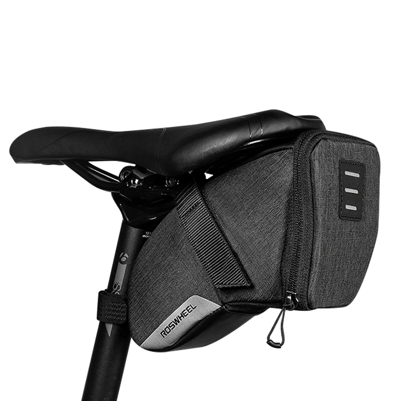 ROSWHEEL-2018-New-131470-0-8L-S-Water-Resistant-Cycling-Bike-Tail-Bag-B7C8 thumbnail 4