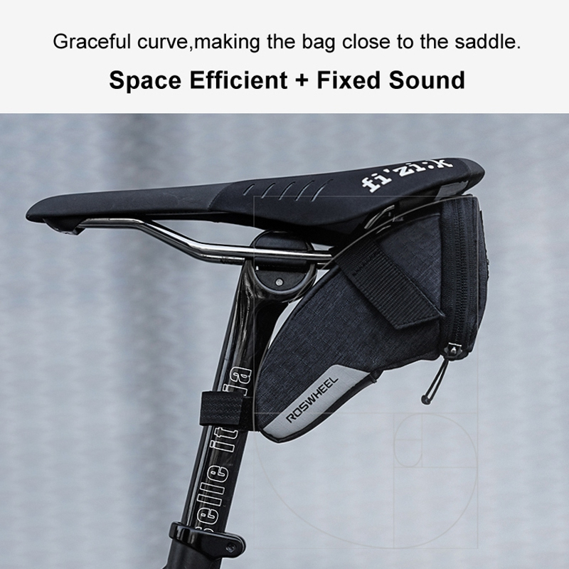 ROSWHEEL-2018-New-131470-0-8L-S-Water-Resistant-Cycling-Bike-Tail-Bag-B7C8 thumbnail 5