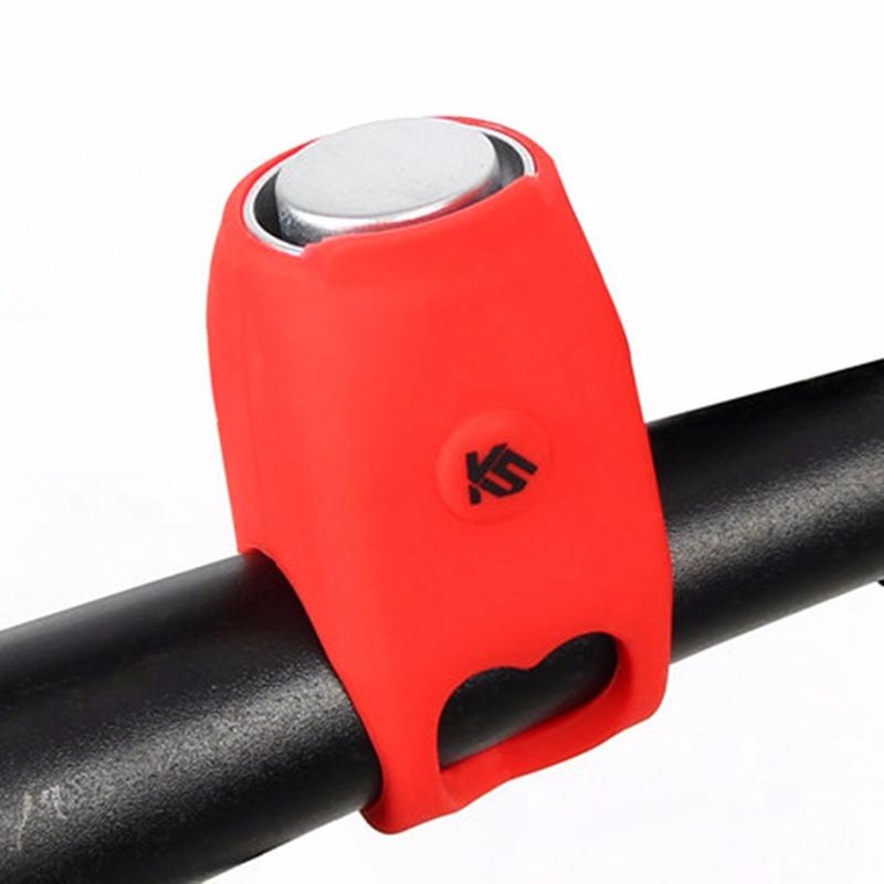 Klaxon-electrique-a-velo-VTT-VTT-Velo-de-route-Guidon-Sonnerie-d-039-alarme-J4C1 miniature 5